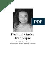 Kechari Mudra