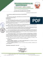 RESOLUCION DE ALCALDIA N°012-2016-MDJ