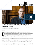 And the Weak Suffer What They Must_ by Yanis Varoufakis – Review _ Books _ the Guardian
