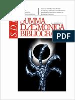 SDB - SUMMA DÆMONICA BIBLIOGRAFIA, Nr. 7/ decembrie 2018.