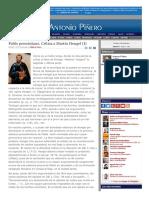 2007-03-25 Pablo Precristiano. Crítica a Martín Hengel 1-2 [30 de 3084]