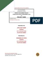 City of Oceanside 2013 PDP SWQMP Template-Version Feb 16 2016