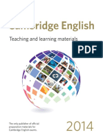 Teaching and Learning Materials 2014