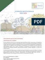 Antecedentes Institucionales FIMCE 2019