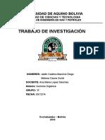 Trabajos Investigacion Quimica Organica