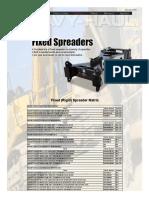 Fontaine Fixed Spreader Matrix