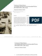 Contruir la Patria Nueva. Los trabajos voluntarios en la Universidad Técnica del Estado (Chile, 1964-1973)