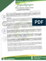 RESOLUCION DE ALCALDIA N° 199-2018-MDJ APROBAR LA LIQUIDACION FINAL DE LA EJECUCION DE LA OBRA