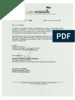 Convite do Governo de Pernambuco ao ex-prefeito de Itapetininga/SP, Roberto Ramalho Tavares