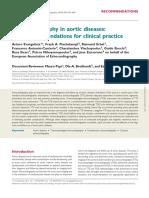 ΕΑΕ Echo Guidelines for Aortic Diseases