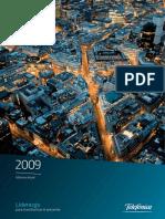 Telef - Informe Anual 2009