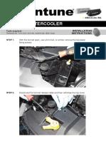 Mountune intercooler installation guide