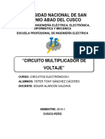 Circuito Multiplicador de Voltaje