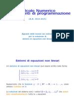 Sistema numerico con sistemas de programcion