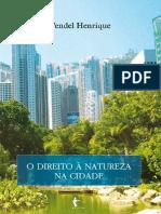 O Direito à Natureza Na Cidade