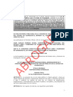 Ley de Adquisiciones Enajenaciones Arrendamiento ABROGADA