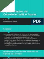 Implementación Del Consultorio Jurídico Popular