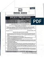 Mechanical made easy ese 2019 test 16