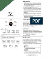 Shark Sport Watch Manual