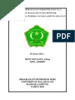 Cover & Daftar Isi Kti Rematik Lansia