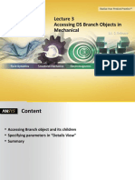 Accessing Branch Objects Mechanical