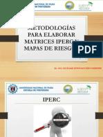 Iperc y Mapas de Riesgos