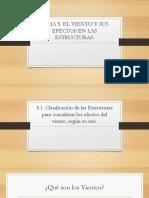 UNIDAD 5. El Viento y Sus Efectos en Las Estructuras