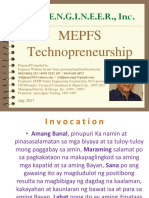 MEPF Technopreneurship 2017