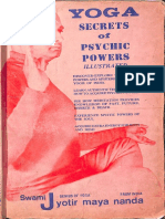 Yoga Secrets of Psychic Power - Swami Jyotismayananda (1)