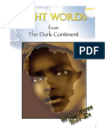 Light Words From the Dark Continent