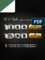 user manual eVga 1300 Watts