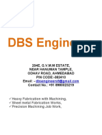 Company Profile Details - DBS Engineers M