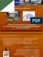 07 - TIPOS DE SEGUROS