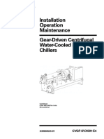 Trane Manual - Centrifugal CVGF Chiller - Inst, Op & Maint.pdf