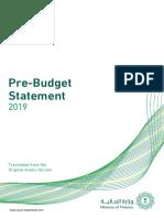 Saudi Arabia Budget 2019