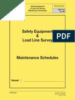 ships safety checklist tsm form-yellow book