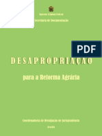 DESAPROPRIAÇÃO REFORMA AGRÁRIA