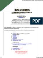 Koeevolucija i Interplanetarna Avantura