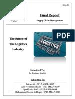 SCM Final Report on Logistics