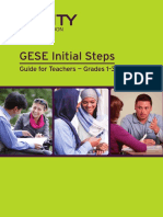 GESE Initial Steps - Guide for Teachers (SELT)