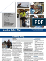 Monthly Safety Plan English