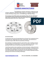 Slip on Flanges Manufacturers