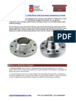 Weld Neck Flanges Manufacturers