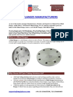 Blind Flanges Manufacturers