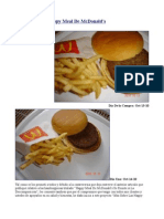 Mas Sobre Las Happy Meal de McDonald's