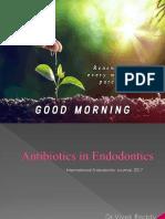 Antibiotics in Endodontics