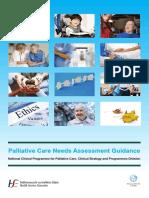 Palliative Care Needs Assessment Guidance