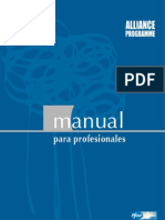 Manual Para Profesionales-  Alliance Programme