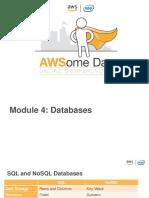 4. AWS Databases