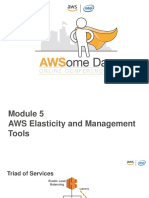 5. AWS Elasticity and Management Tools